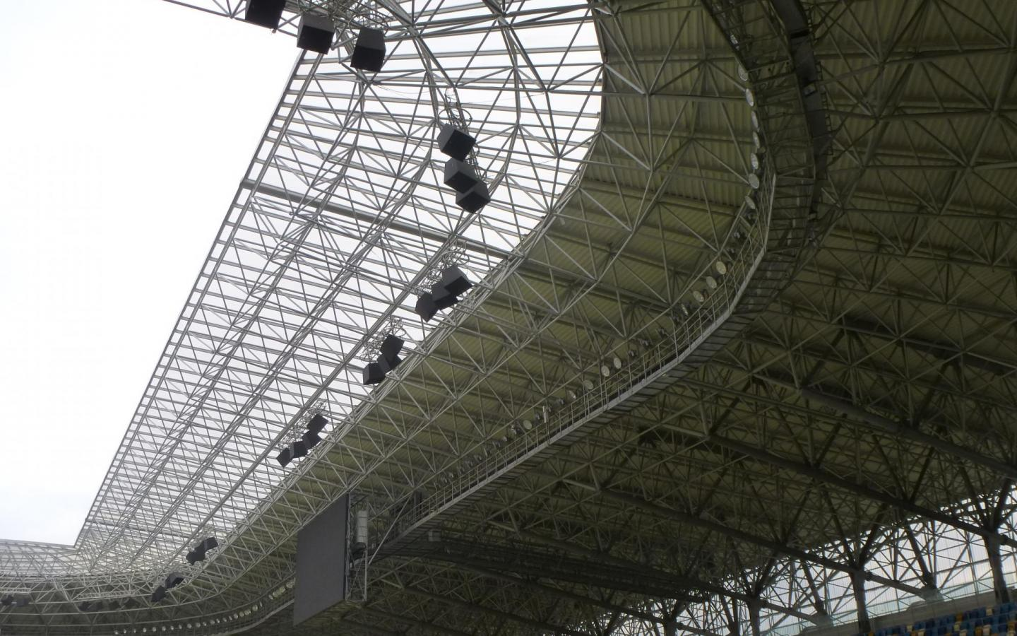 Stadium Lviv roof construction (c) Albert Wimmer ZT GmbH